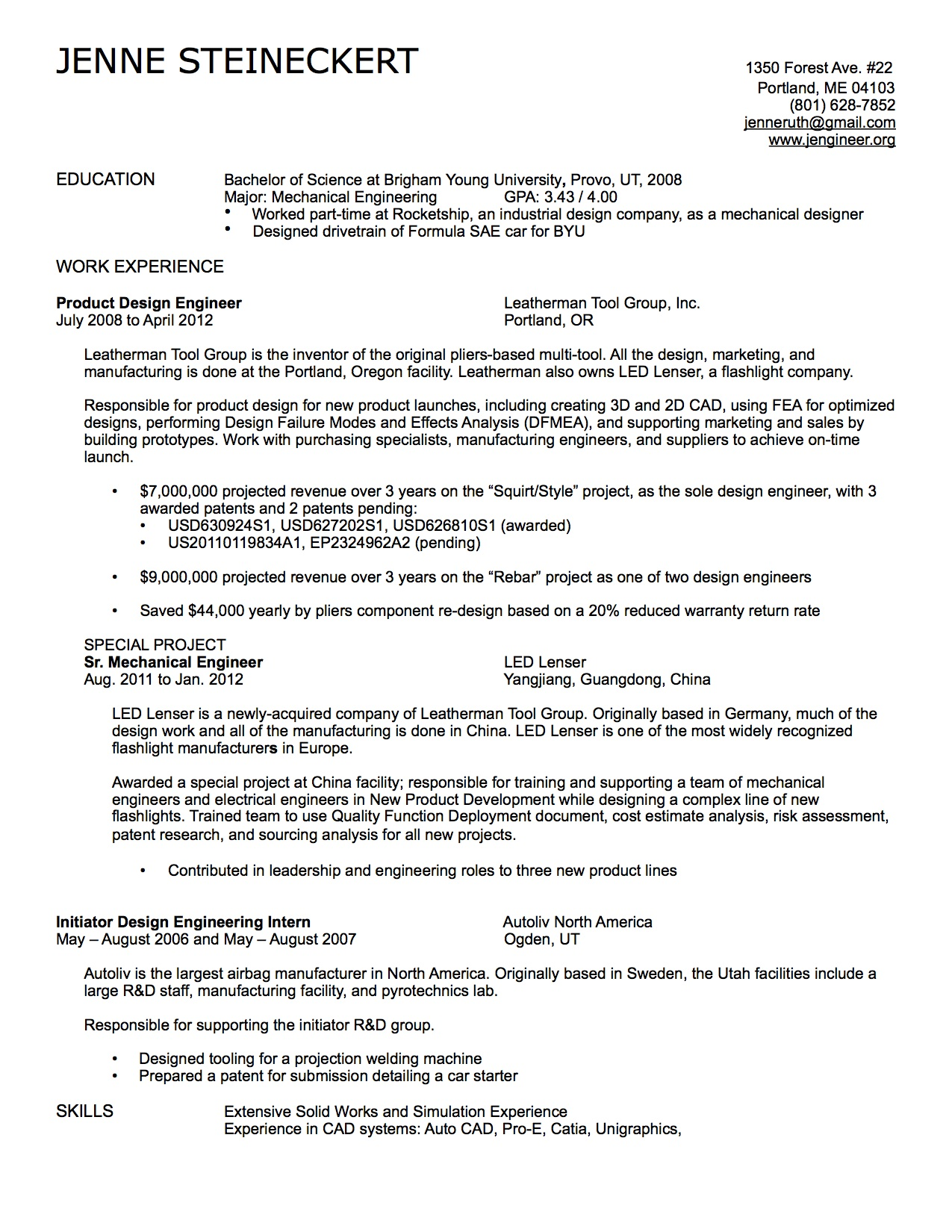 references section of resumes